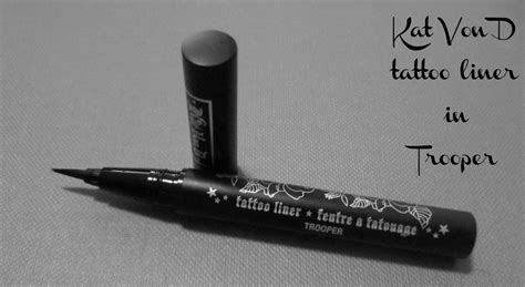 kat von d tattoo liner in trooper eyemasq
