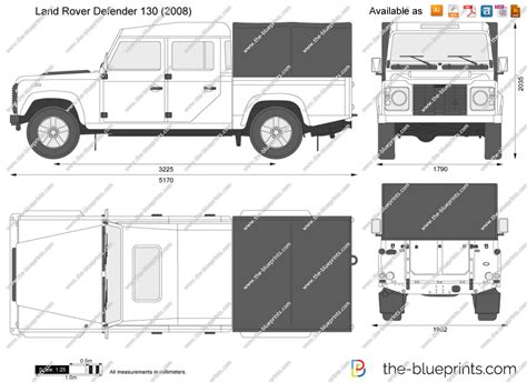land rover drawing the blueprints com vector drawing land rover defender 130