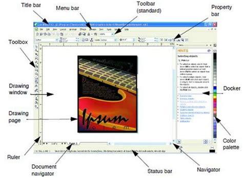 fungsi desain grafis corel draw membuat desain menarik fungsi menu coreldraw