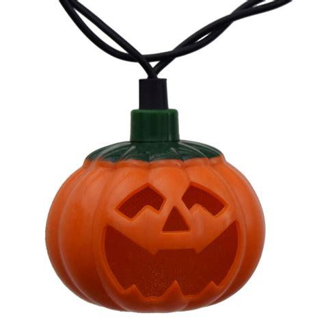 pumpkin lights pumpkin led string lights battery operated 10 lights
