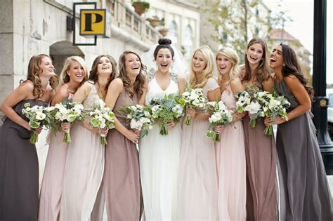 different color bridesmaid dresses 187 mix match bridesmaid dresses