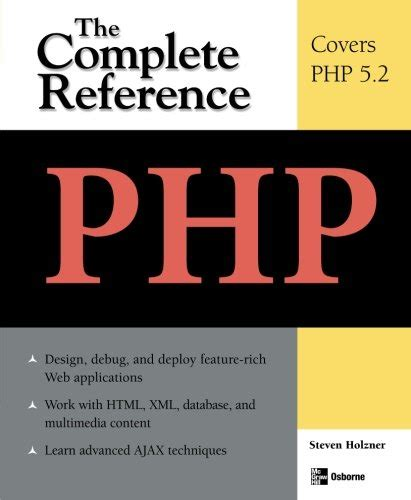 reference book php php the complete reference reading length