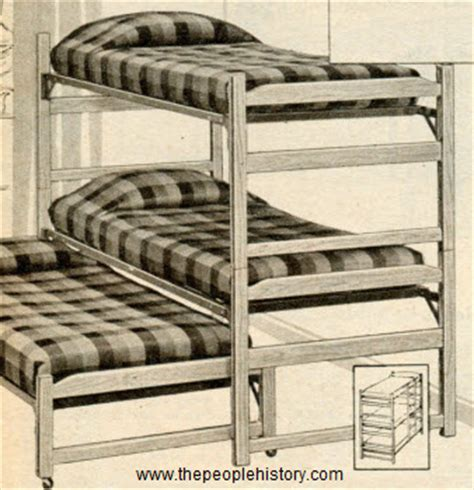 three tier bunk bed furniture for your home in the 1960 s prices and exles