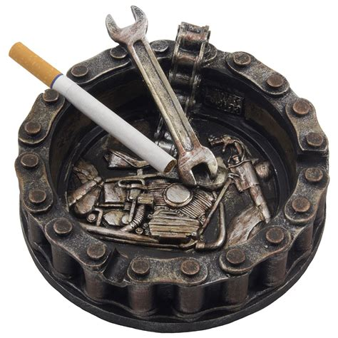 Decorative Outdoor Ashtrays For Home by Motorhead Home N Gifts