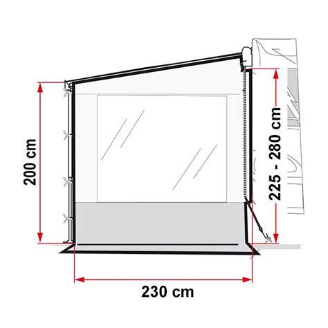 Fiamma Awning Walls by Caravansplus Fiamma Side W Pro End Panel With Window