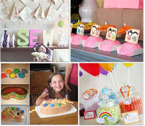 themes for little girl parties girl party