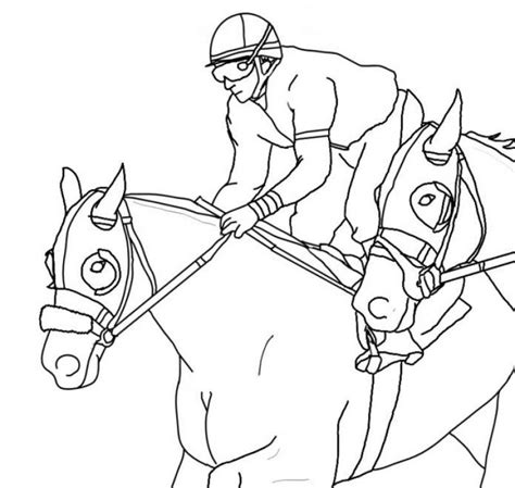 coloring pages of race horses 15 images of coloring pages racing