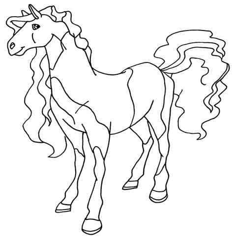 Free Printable Horseland Coloring Pages For Kids Free Color Pages