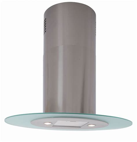 Free Standing Kitchen Island Units by Lux Air La90ovalisl 90cm Oval Island Cooker Hood 980m3hr