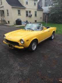 1979 Fiat Spider 2000 For Sale 1979 Fiat Spider 124 2000 Automatic Transmission