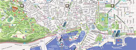 printable maps barcelona barcelona street map my blog