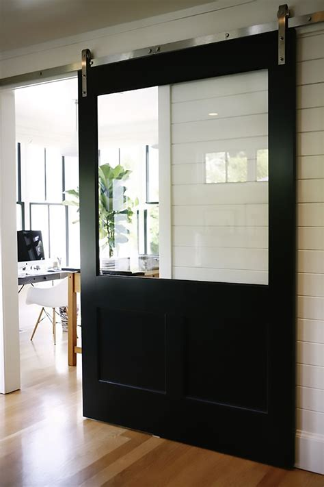 Sliding Barn Doors With Windows Sliding Barn Doors Pinspiration My Warehouse Home