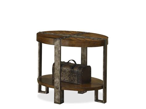 living room accent table hooker furniture living room sanctuary round mirrored