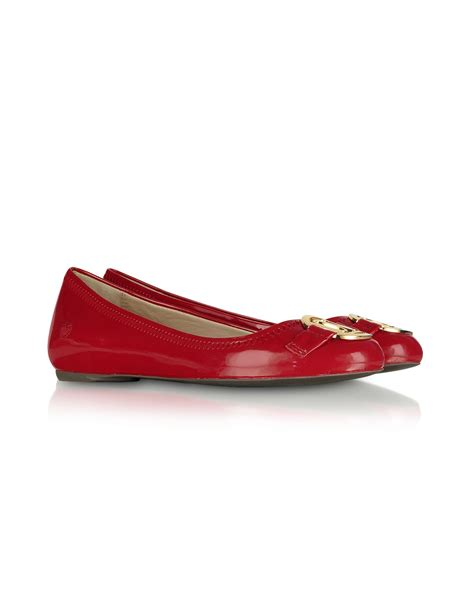 moschino shoes moschino moschino patent ballerina shoes in