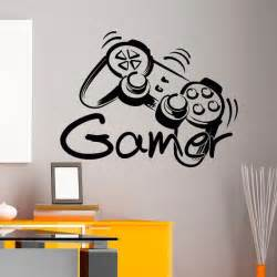 Video Game Wall Stickers game controller gamer wall decal game zone wall decals vinyl stickers