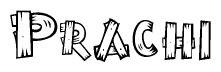 tattoo name prachi royalty free prachi 307125 vector clip art image