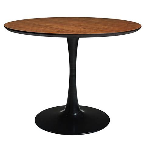 tavolo nero tavolo imitazione legno e metallo nero l 100cm circle
