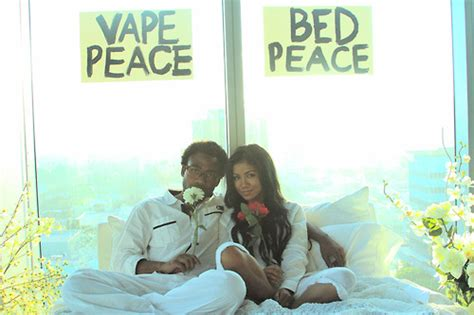 bed peace jhene aiko lyrics watch jhene aiko pays homage to john and yoko in bed