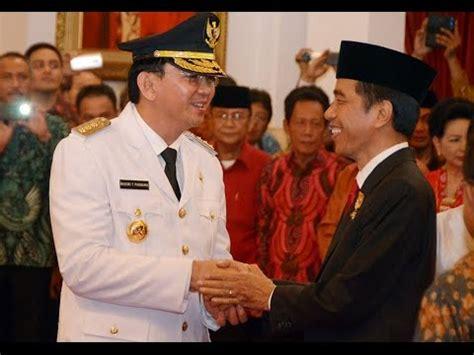 ahok wakil presiden presiden jokowi melantik ahok sebagai gubernur dki jakarta