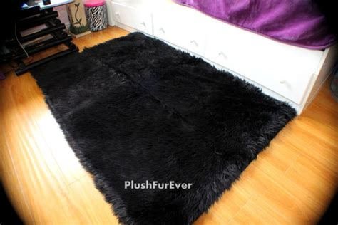 Fur Rugs Cheap clearance sale plush faux fur area rug contemporary modern