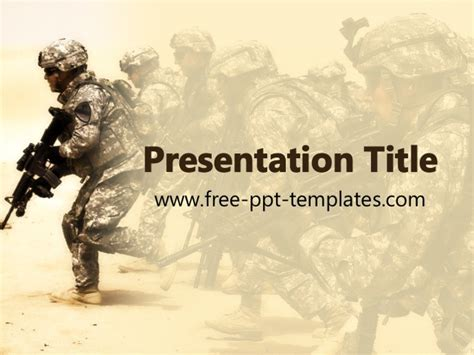 powerpoint templates free war military powerpoint template best business template