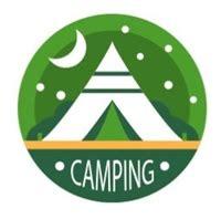camping logo vectors free download