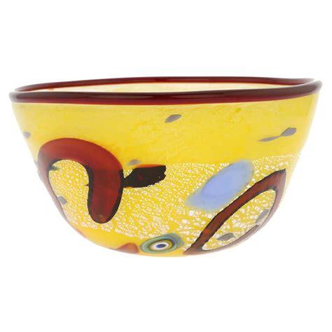 modern bowl murano glass vases modern art murano glass bowl yellow