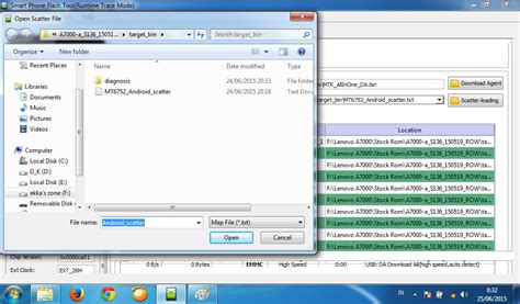 tutorial cara menggunakan sp flash tool tutorial flashing lenovo a7000 menggunakan flash tool
