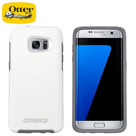 Otterbox Symmetry Series For Samsung Galaxy S7 Edge Glacier 77 53098 otterbox symmetry series tough for samsung galaxy s7
