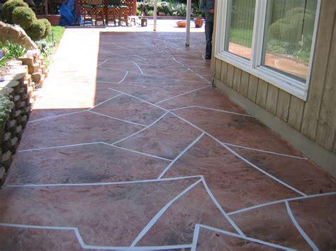 cement overlay patio concrete patio pattern overlay concrete design