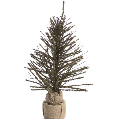 artificial evergreen and twig tree christmas trees and