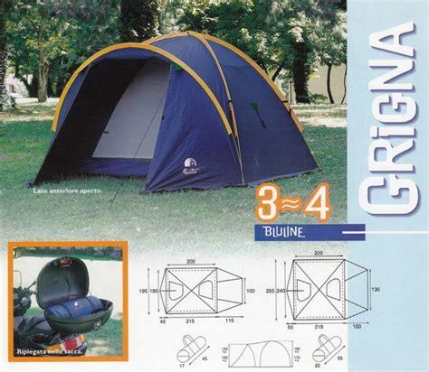 tenda da ceggio 4 posti tenda da ceggio conver grigna 4 posti cing