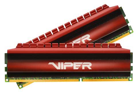 Patriot Pv416g340c6k Viper Ddr4 2x8gb patriot memory announces viper 4 ddr4 3400 mhz dual channel kit