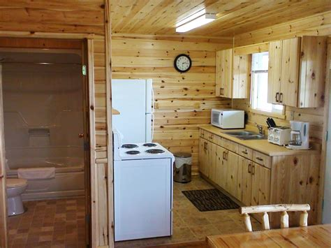bath cabin cabins at fisherman s cove on famous lac seul