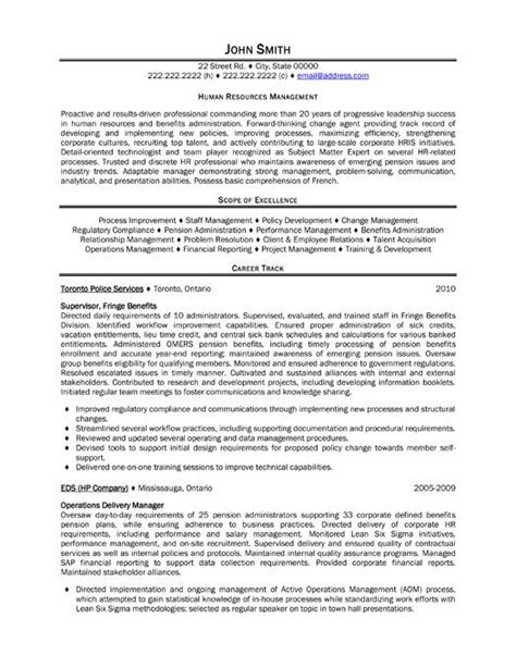 resume resources exles 49 best management resume templates sles images on