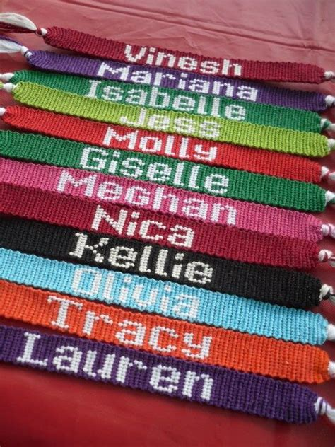 name pattern friendship bracelet 12 best images about xmas on pinterest harry potter diy