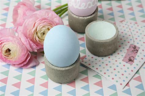Eierbecher Selber Machen by Eierbecher Aus Beton Einfach Selber Machen