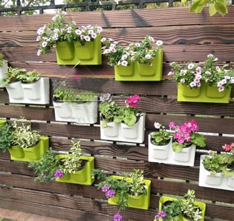 how to decorate pot at home 26 5x16cm plastic flower pot balcony wall hanging pots