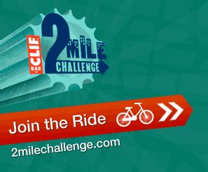 clif bar challenge do your part record your bike rides in the 2 mile