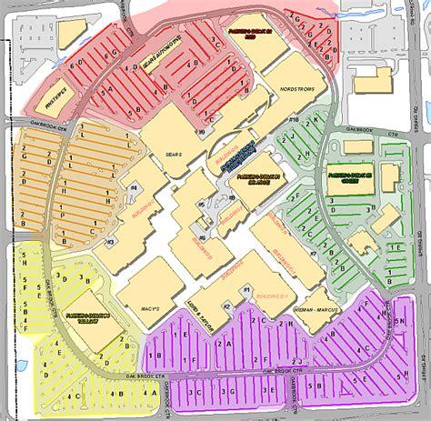 oakbrook mall map oakbrook mall map map3