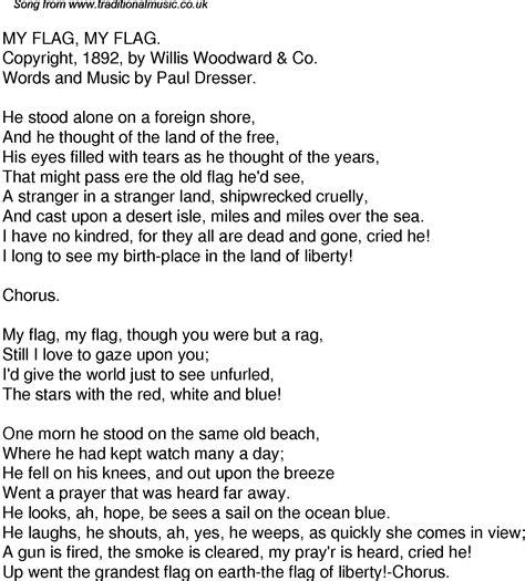 testo white flag time song lyrics for 36 my flag my flag