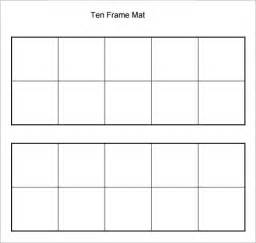 free printable picture frame templates sle ten frame 5 documents in pdf