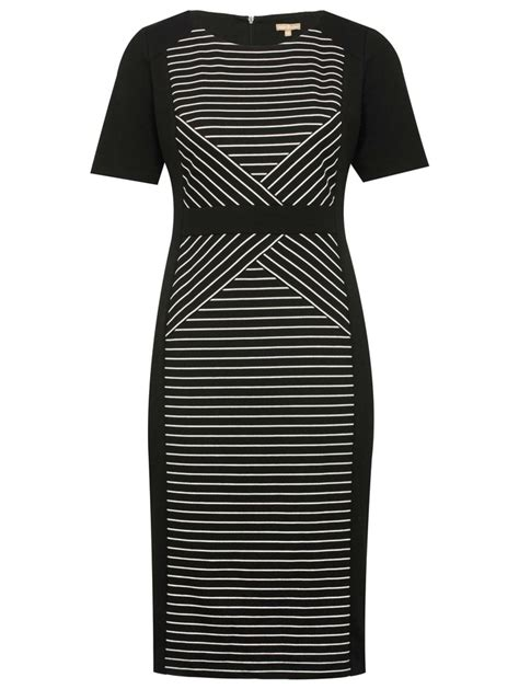 Pocket Monochrome Stripe Tunic Blouse 8307 friday focus m co s monochrome magic fashionmommy s