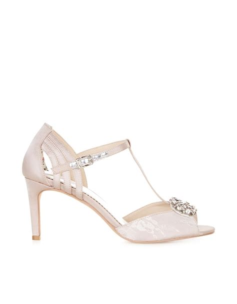 Gladys T Bar Sandal From Monsoon by Amelia T Bar Brooch Shoes Endource