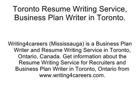 Resume Help Barrie Professional Resume Writers Toronto Stonewall Services