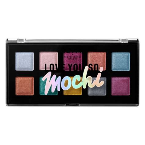 Nyx You So Mochi you so mochi eyeshadow palette nyx professional makeup