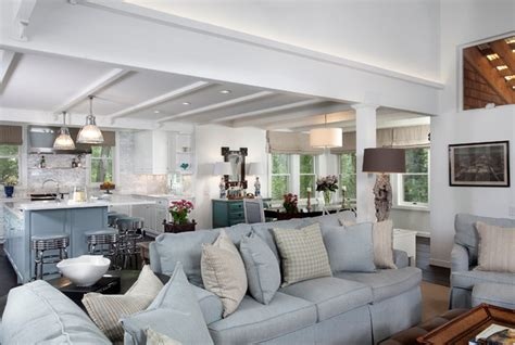 Nantucket Living Room by Nantucket Meets Mountain Traditional Living Room