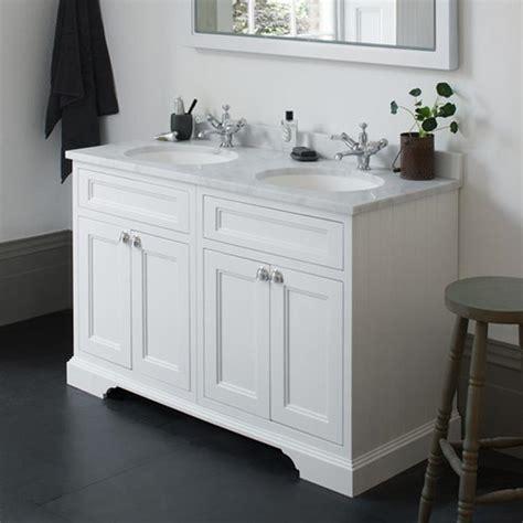 Bathroom Vanities Burlington Burlington Matt White 1300mm Freestanding Vanity Unit Basin Sanctuary Bathrooms