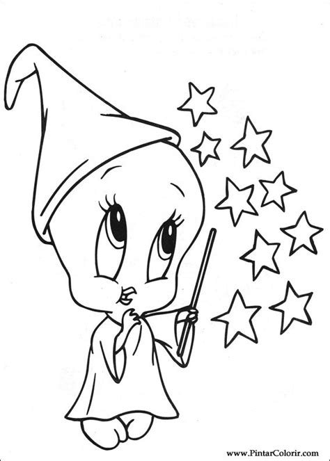 baby looney tunes coloring pages games drawings to paint colour baby looney tunes print