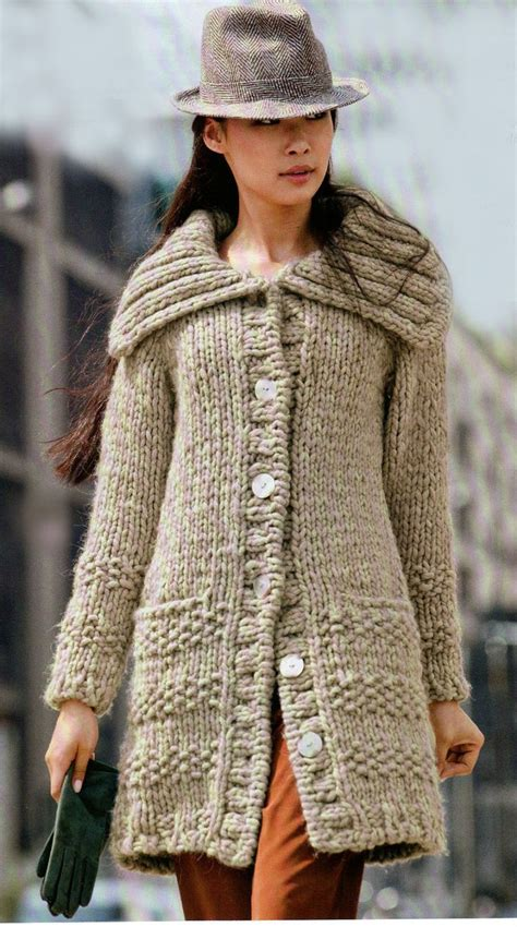 chompas de lana 2016 las 25 mejores ideas sobre abrigos tejidos en pinterest